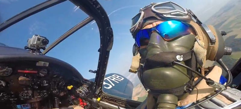 Illustration for article titled This F4U Corsair GoPro Flight Video Is Absolutely Exhilarating