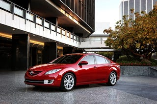 Illustration for article titled 2009 Mazda6 Unveiled For North America