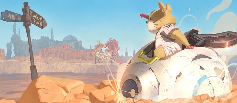 Illustration for article titled Please Don't Kill Hammond, Overwatch's New Hero