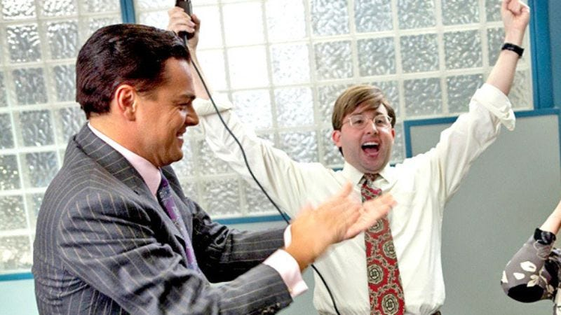 Illustration for article titled Wolf Of Wall Street broker sues producers for defaming his otherwise-sterling character