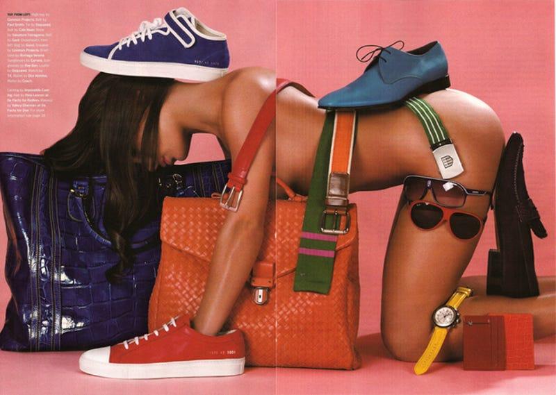 Illustration for article titled Men's Magazine Treats Women Like Garbage, Furniture