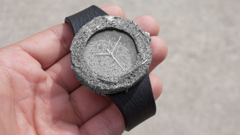 Illustration for article titled Own a Sizeable Chunk of the Moon With This Lunar Watch (Update: We Got Fooled)