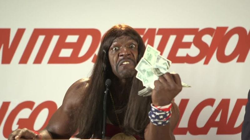 Illustration for article titled Terry Crews may soon be asking What Candy-Ass Wants To Be A Millionaire?