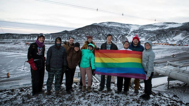 Antarctica s First Pride Celebration Is Officially Here