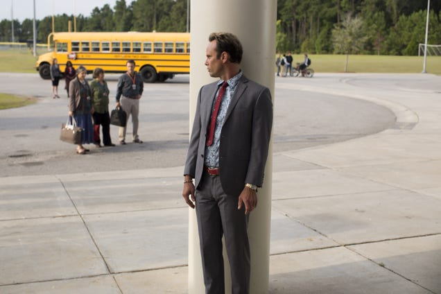 It's a tale of equal parts selflessness and revenge on Vice Principals