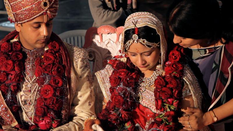 Amrita and Keshav getting married. Image via A Suitable Girl.