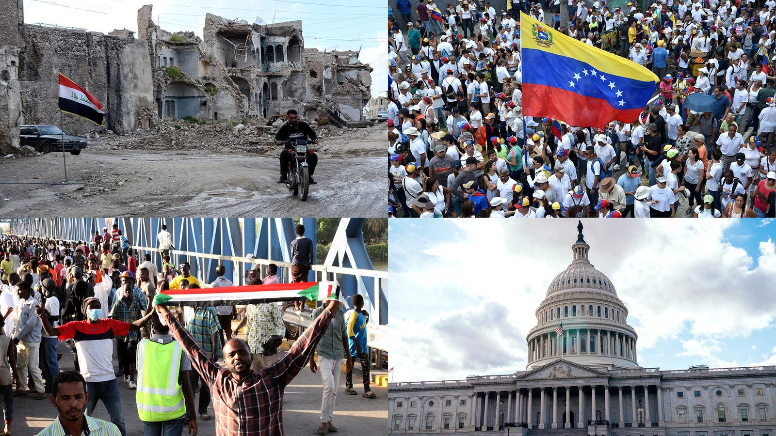 BREAKING: Situation Worsens In Venezuela, Bolivia, U.S., Japan, Mexico, Iraq, Spain