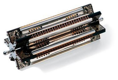 Illustration for article titled Hohner Six-Sided Harmonica Plays the Blues Six Ways to Sunday