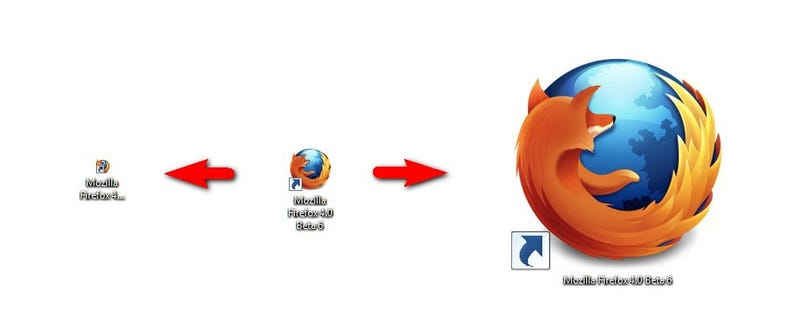 Resize Windows Desktop Icons with Your Scroll Wheel