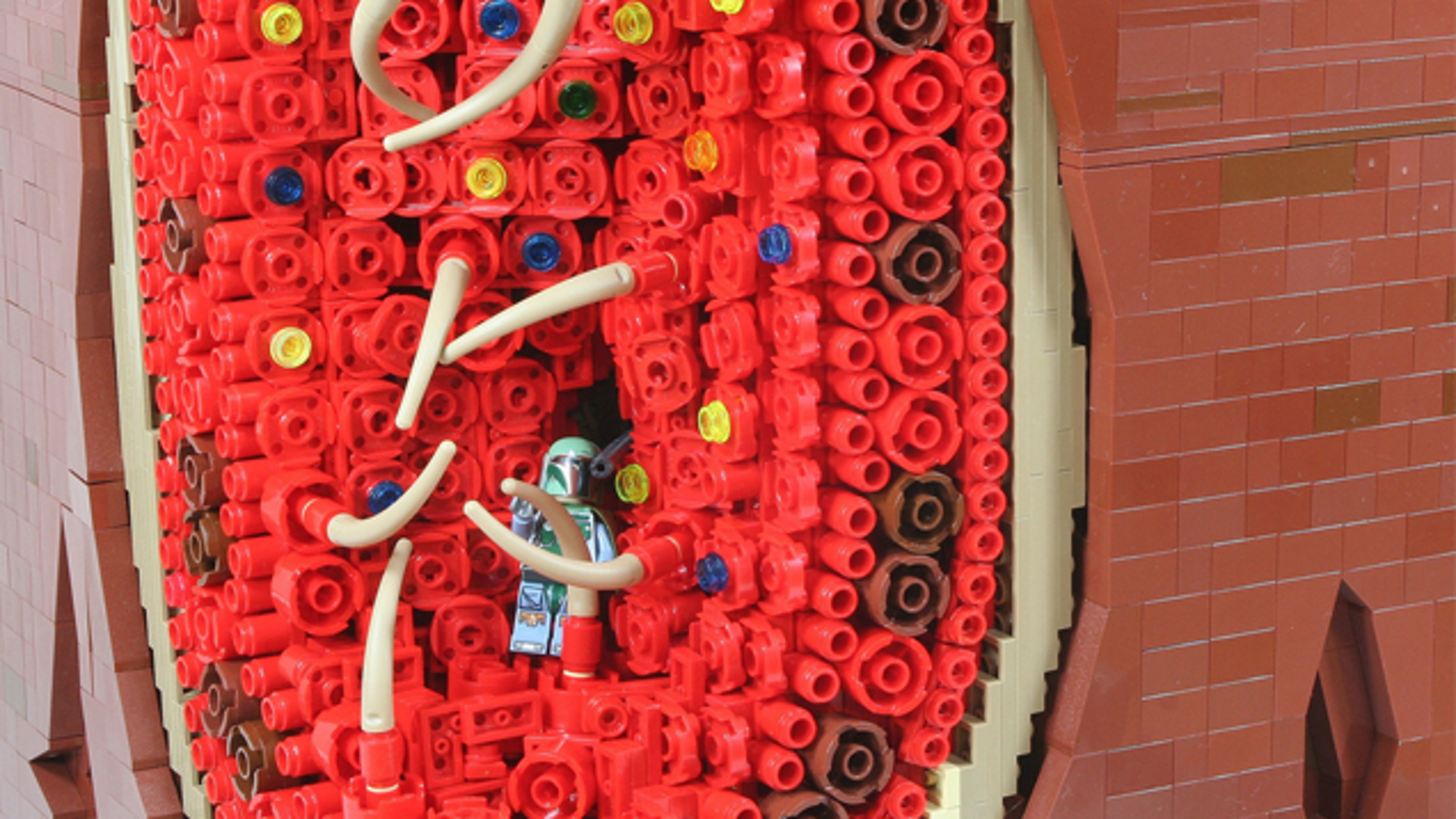 This Incredible Lego Diorama Shows How Boba Fett Escaped The Sarlacc Pit