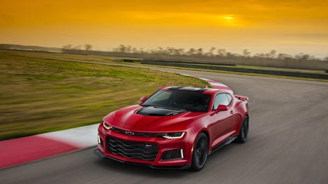 The 650 HP 2017 Camaro ZL1 Will Do 0-60 In 3.5 Seconds And Costs ...