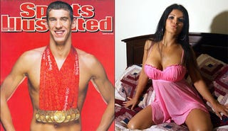 Illustration for article titled Michael Phelps Loves Chewing Tobacco, Loves Threesomes With Strippers