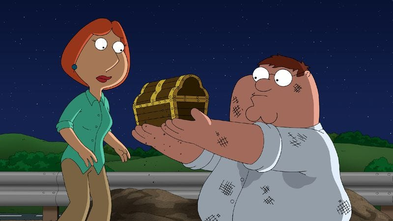 """Illustration for article titled Family Guy: """"Finders Keepers"""""""