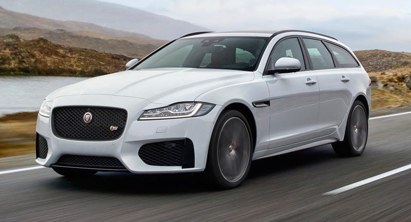 Illustration for article titled The 2018 Jaguar XF Sportbrake Is Bringing Its Gorgeous Looks To America