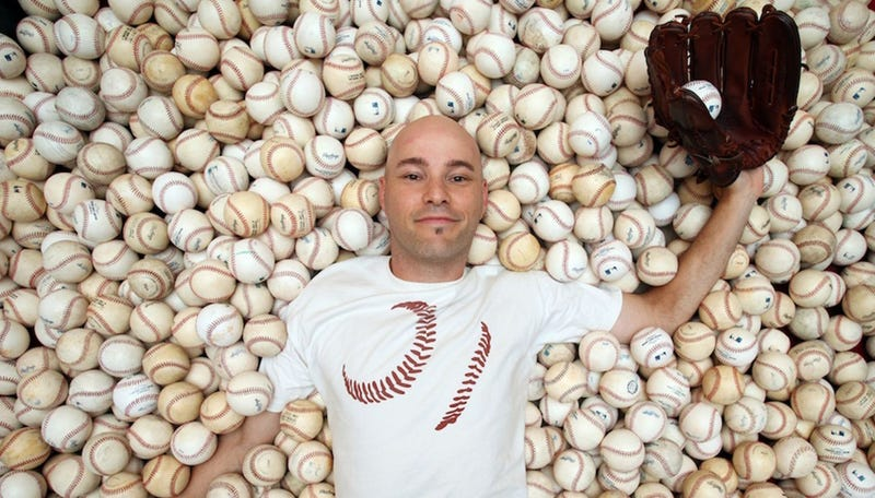 Illustration for article titled Ballhawk Zack Hample Throws Fit Because Someone Else Wanted A Baseball