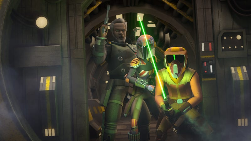 Illustration for article titled Discussing the complexity of war is easier for Star Wars Rebels to do than exploring it