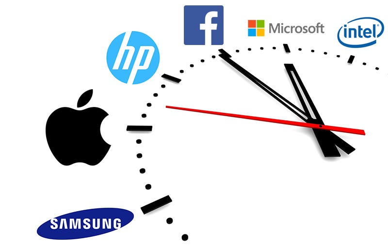 Illustration for article titled ¿Cuánto dinero ingresan Apple, Samsung, Google o Amazon en un segundo?