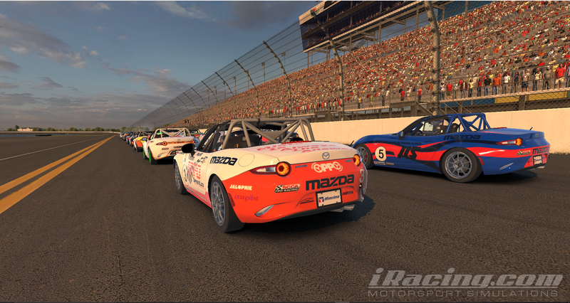 Illustration for article titled Team Oppo Competes in the iRacing Before the 24 - Photo Gallary