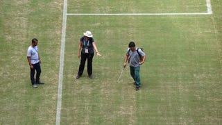 Illustration for article titled Zöldre festik a manausi stadion gyepét, ahol az angol–olasz lesz