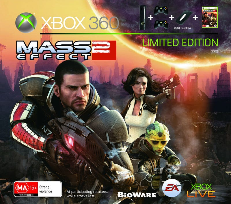 "Illustration for article titled Mass Effect 2 ""Super Elite"" Console Bundle Announced"