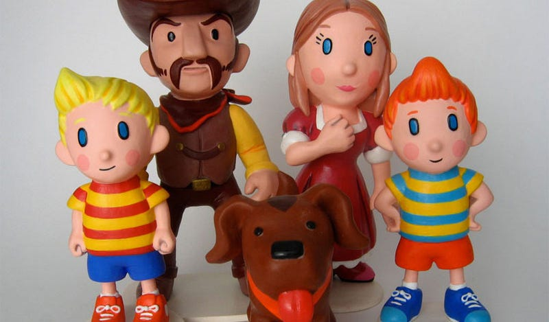Illustration for article titled Exquisite Mother 3 Statues