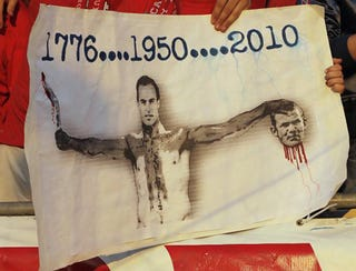 Illustration for article titled US Fans Create Horrific Image To Stir Up World Cup Rivalry