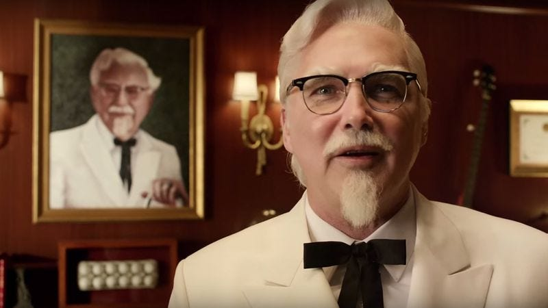 Illustration for article titled Norm Macdonald is now Colonel Sanders
