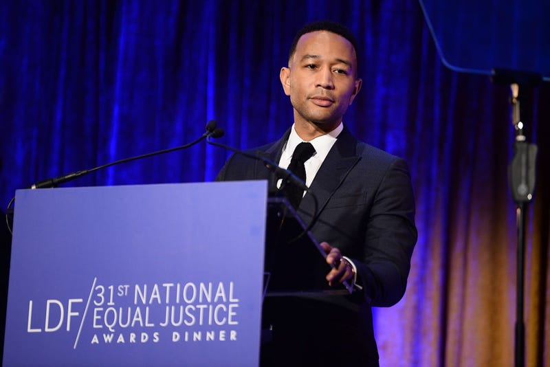 John Legend in New York City in November 2017 (Dave Kotinsky/Getty Images for NAACP Legal Defense and Educational Fund)