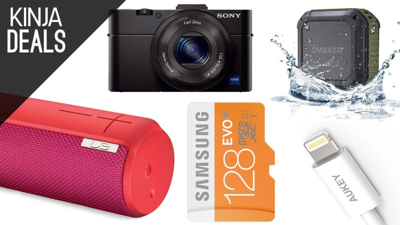 Illustration for article titled Today's Best Deals: RX100 Bundle, iTunes Credit, UE Boom, and More