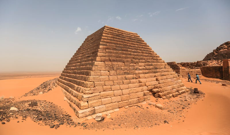Illustration for article titled Las pirámides olvidadas de Sudán