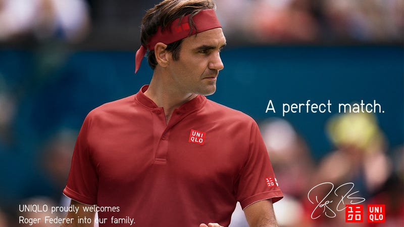 Roger Federer Uniqlo Collection | $40