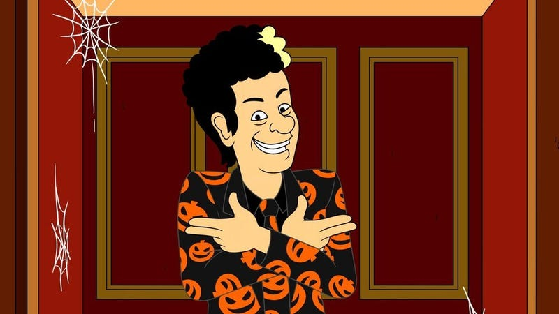 The David S. Pumpkins Halloween Special (Photo: NBC)