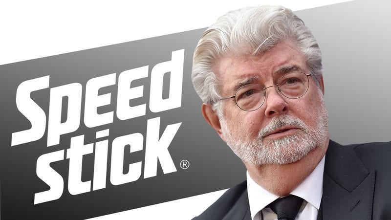 Illustration for article titled 5 Times Speed Stick Had To Ask George Lucas To Stop Buying TV Airtime To Independently Advertise Its Product
