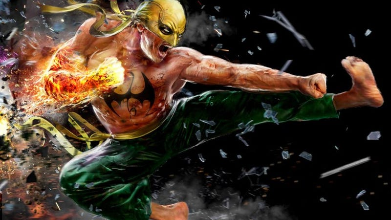 Illustration for article titled It Actually Really, Really Sucks That TV's Iron Fist Is White