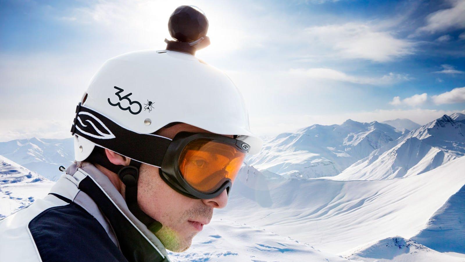 360Fly, la nueva rival de GoPro graba en 360 grados