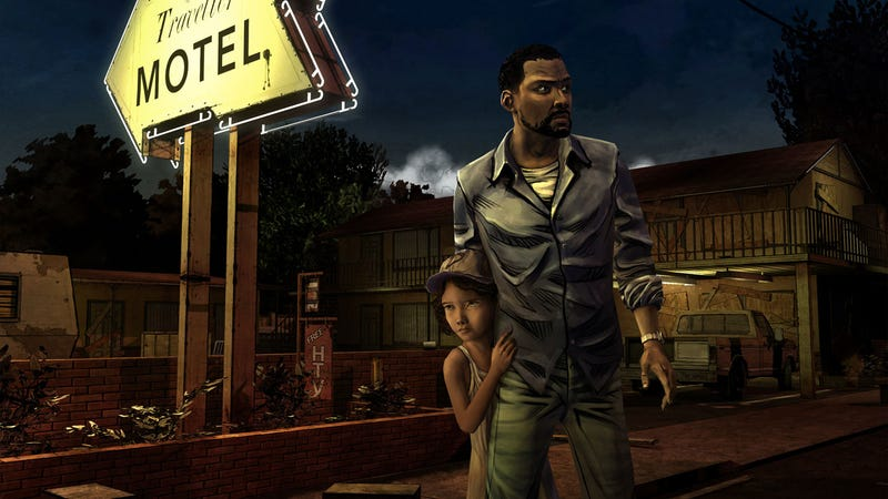 Illustration for article titled See The Walking Dead Video Game's Superb Comic Book Look