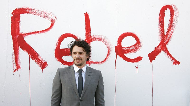 Illustration for article titled 'Straight James Franco' Interviews 'Gay James Franco'; Both Suck