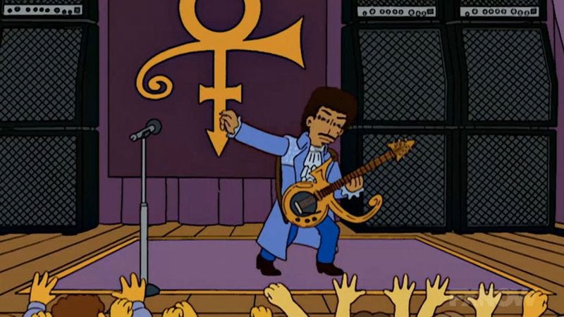 Illustration for article titled Found: The rejected Simpsons script Conan O'Brien wrote for Prince