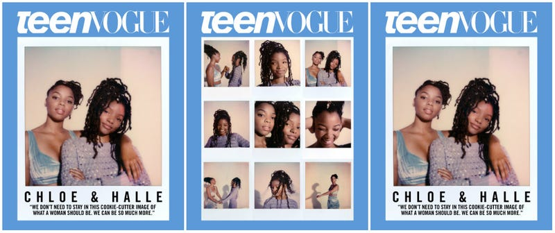Illustration for article titled Chloe x Halle Cover Teen Vogue and Take Us through the Playlist of Their Lives (and Ours)