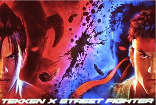 Illustration for article titled Don't Hold Your Breath for Tekken X Street Fighter Just Yet