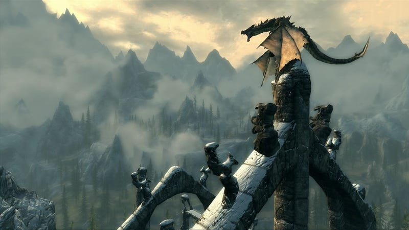 """Illustration for article titled Skyrim Director: """"Substantial"""" DLC Already in the Works"""