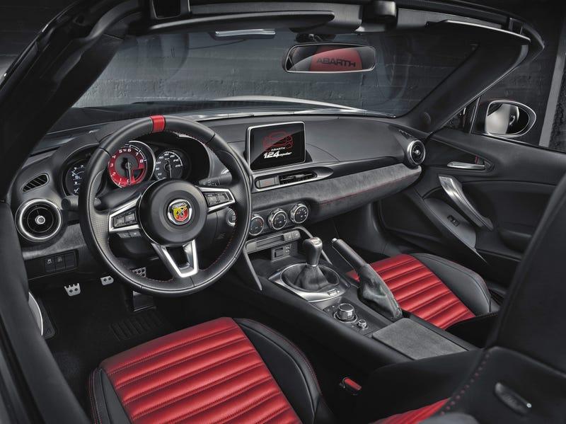 2017 Fiat 124 Spider Abarth Interior