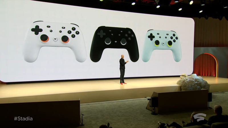 Illustration for article titled Google Stadia's Only Hardware Is This Special Controller