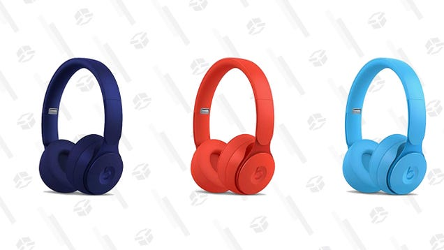 Three Vibrant Variations of Beats Solo Pro Headphones Are Only $200 Right Now