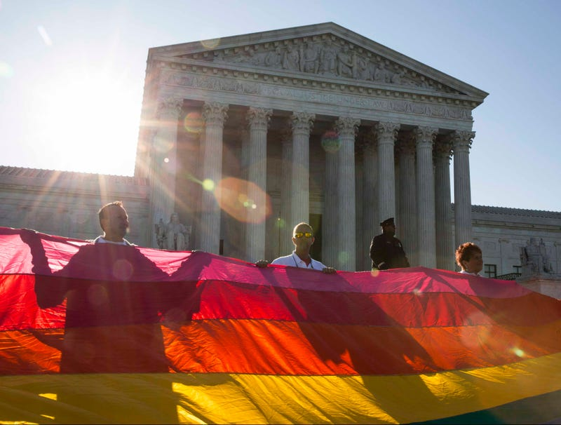 Illustration for article titled Supreme Court Legalizes Gay Marriage After Landmark 193,000,000-115,000,000 Decision