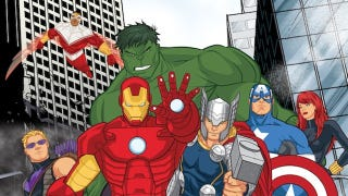 Illustration for article titled First look at Disney's new Avengers Assemble cartoon