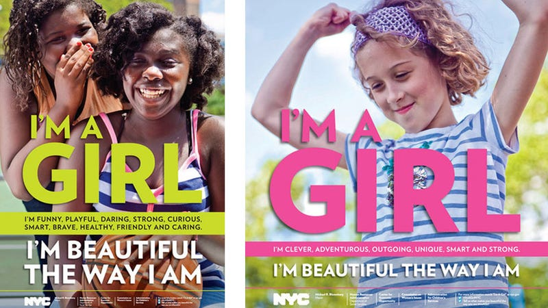 NYC Launches Campaign to Boost Girls' Self-Esteem
