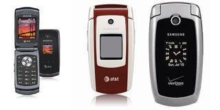 Illustration for article titled MILF Phone Roundup: Samsung SGH-A127, SGH-A517, SGH-A127 and the Moto W470