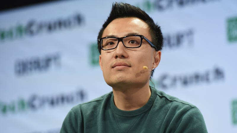 Co-founder and CEO of DoorDash Tony Xu speaks onstage during TechCrunch Disrupt NY 2016 at Brooklyn Cruise Terminal on May 11, 2016 in New York City.