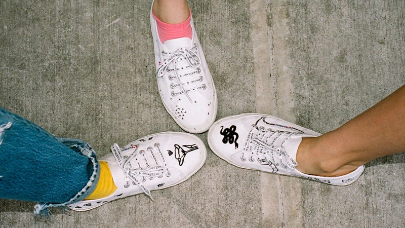 Illustration for article titled The Superga x DEERDANA Collab Gets In Touch With Nature